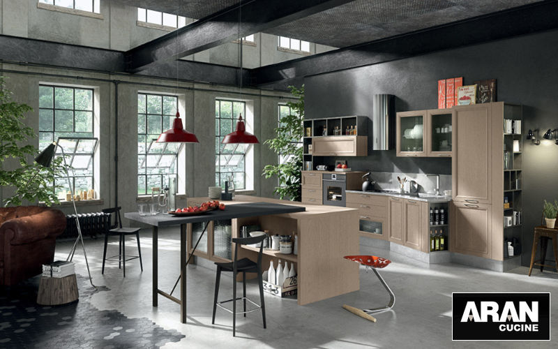 ARAN CUCINE Built in kitchen Fitted kitchens Kitchen Equipment Kitchen | Design Contemporary