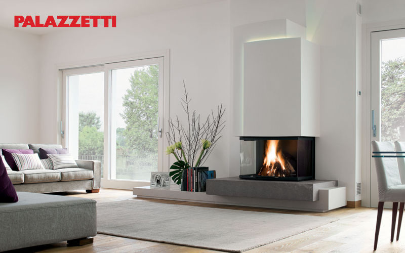 Palazzetti Closed fireplace Fireplaces Fireplace Living room-Bar | Design Contemporary