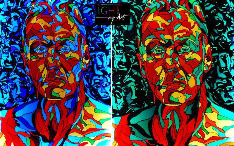 LIGHT MY ART Luminous painting Paintings Art and Ornaments  |