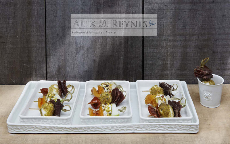 ALIX D REYNIS Nibbles tray Cups and fingerbowls Crockery  |