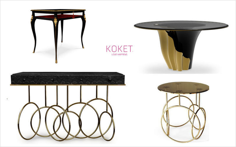 KOKET LOVE HAPPENS Round diner table Dining tables Tables and Misc.  |