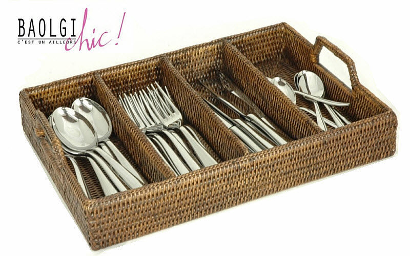 BaolgiChic Cutlery tray Storage Kitchen Accessories  |