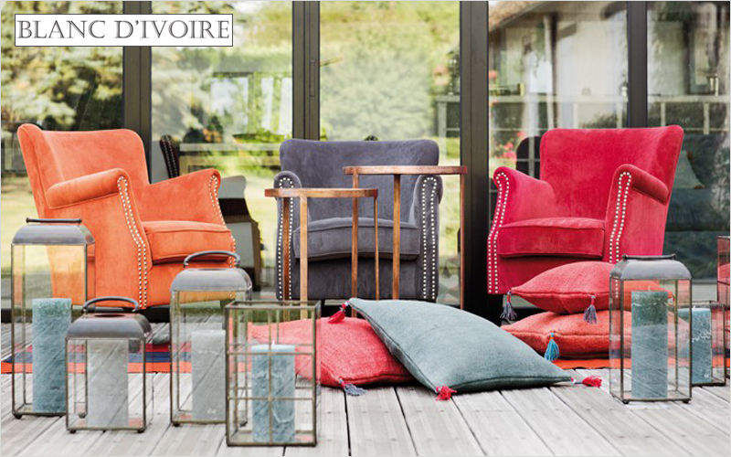 BLANC D'IVOIRE Armchair Armchairs Seats & Sofas   