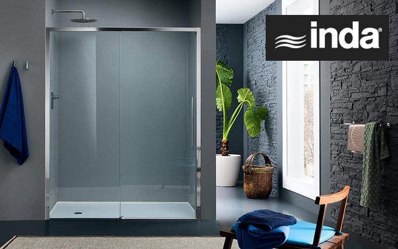 Inda Shower screen panel Showers & Accessoires Bathroom Accessories and Fixtures   