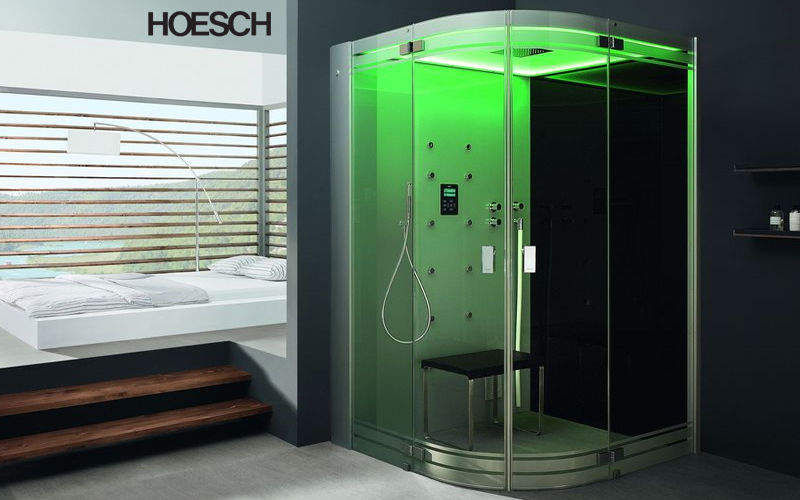 HOESCH Hydromassage shower enclosure Showers & Accessoires Bathroom Accessories and Fixtures  |