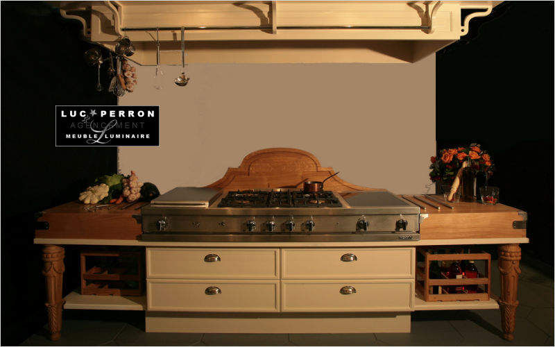 Luc Perron Built in kitchen Fitted kitchens Kitchen Equipment  |