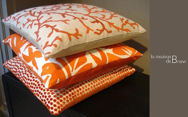 La maison de Brune Square Cushion Pillows & pillow-cases Household Linen  |