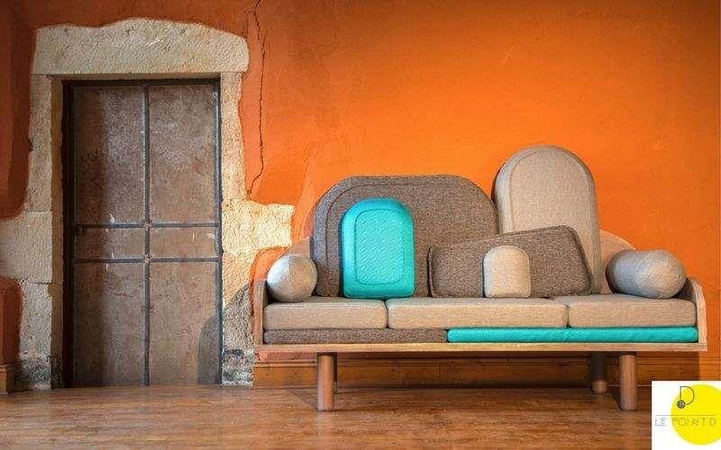 LE POINT D 3-seater Sofa Sofas Seats & Sofas   