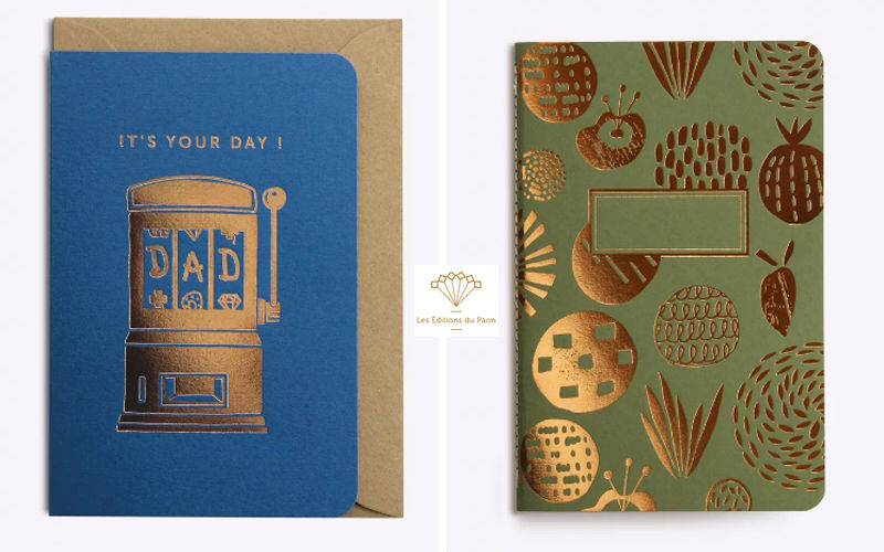 LES EDITIONS DU PAON Diary Stationery and writing materials Stationery - Office Accessories  |