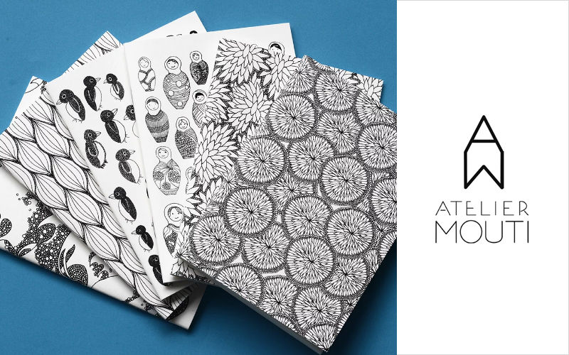 ATELIER MOUTI Notebook Stationery and writing materials Stationery - Office Accessories  |