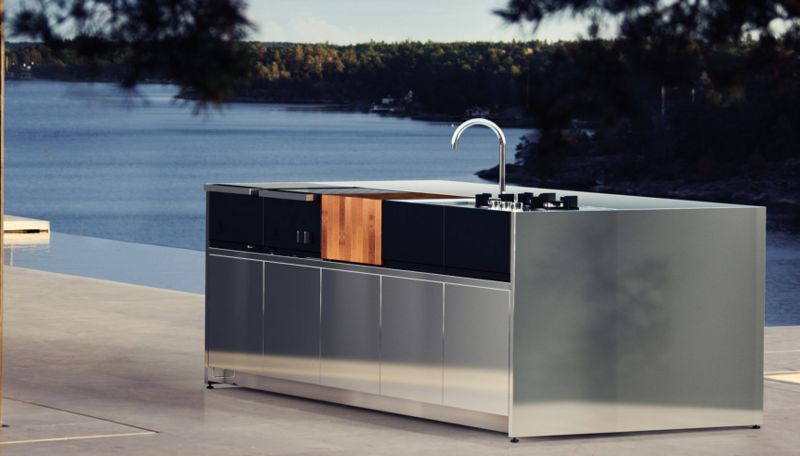 ROSHULTS Outdoor kitchen Fitted kitchens Kitchen Equipment  |