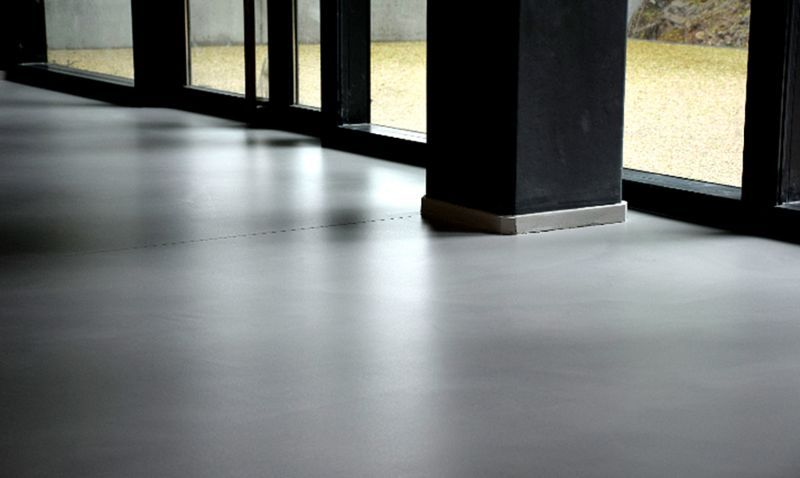LUCEM Ground waxed concrete Decorative concrete Flooring  |