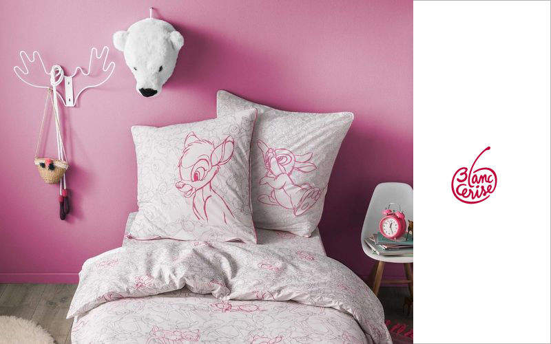 BLANC CERISE Children's duvet cover Baby bed linen Children's corner  |