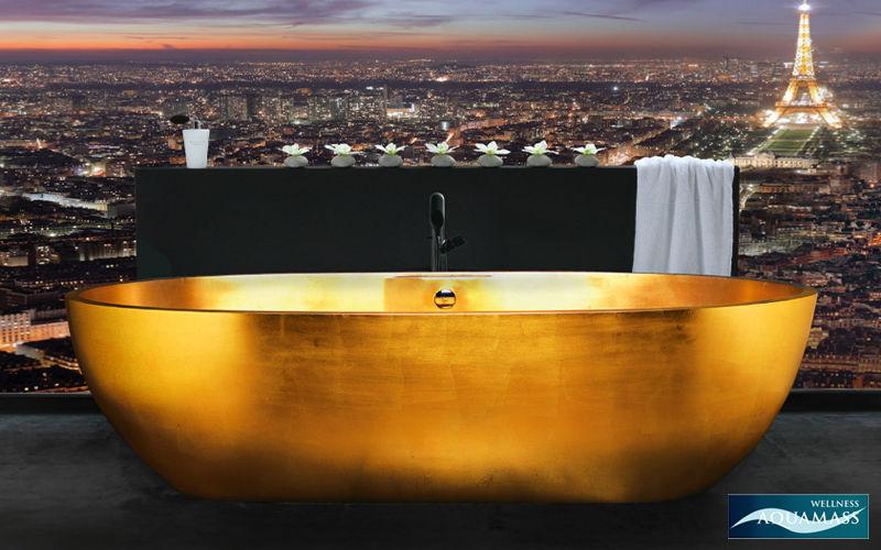 Aquadesign studio Freestanding bathtub Bathtubs Bathroom Accessories and Fixtures  |