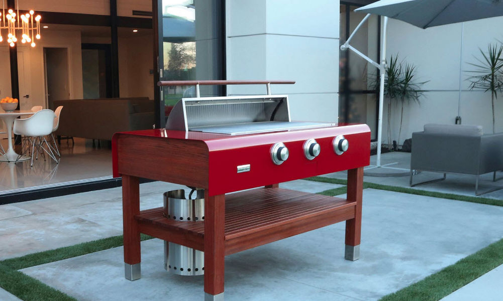 CALIBER APPLIANCES Gas fired barbecue Barbecue Outdoor Miscellaneous  |