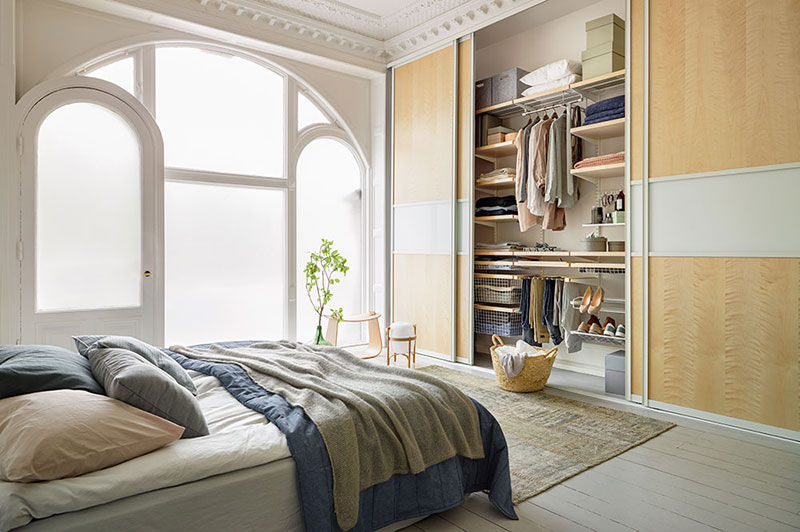 Elfa Sliding cupboard Wardrobes Wardrobe and Accessories   