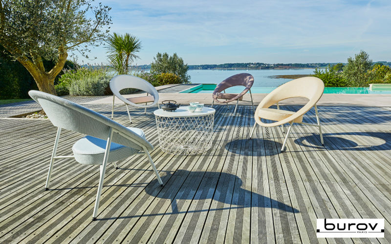 Burov Garden armchair Outdoor armchairs Garden Furniture   
