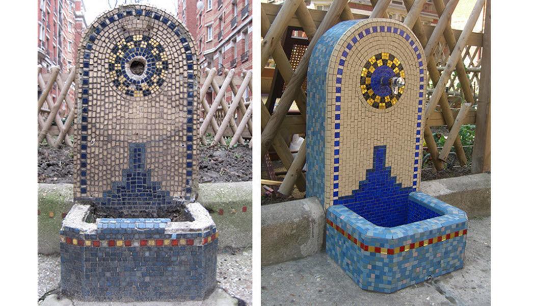 NATHALIE GRANGé Wall fountain Fountains Garden Pots  |