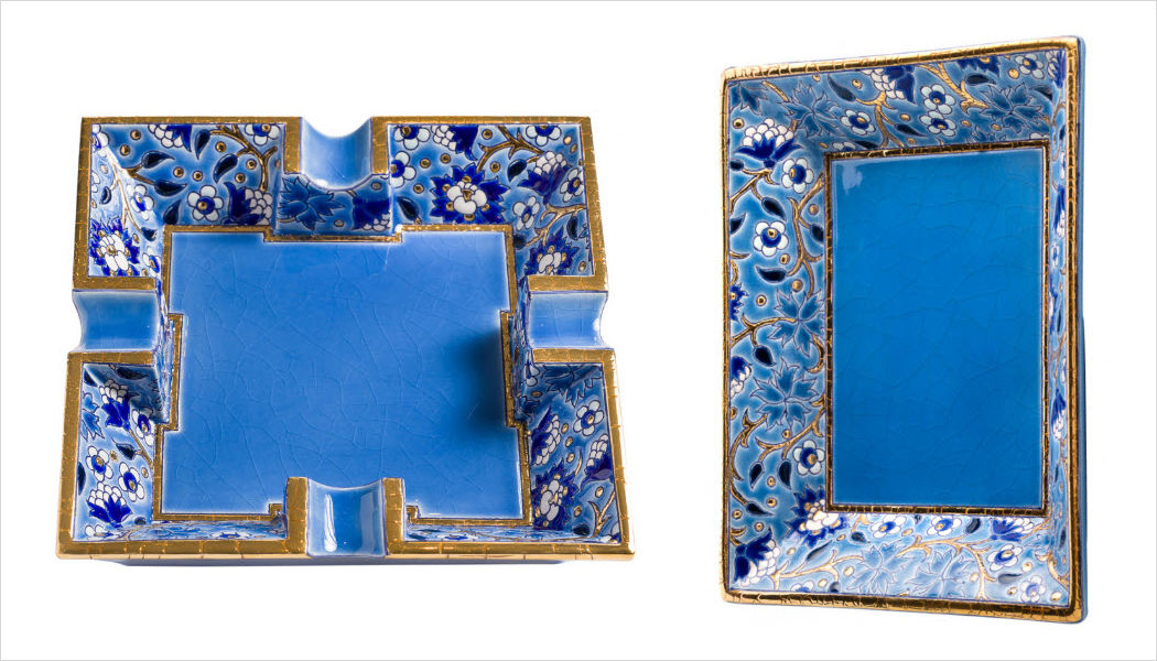 EMAUX DE LONGWY Cigar ashtray Tobacco Decorative Items  |