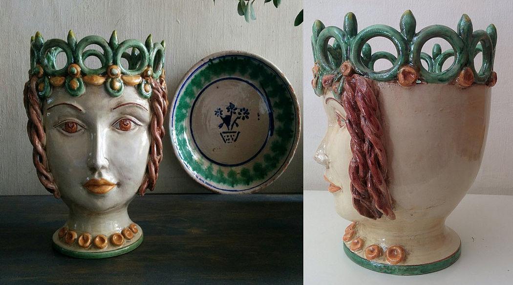 AGATA TREASURES Decorative vase Decorative vase Decorative Items  |