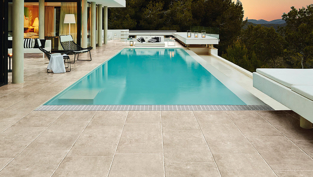 DOM CERAMICHE Pool deck Kerbs and borders Swimming pools and Spa  |