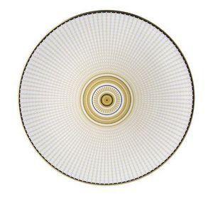 ROYAL CROWN DERBY - oscillate ochre-- - Dinner Plate