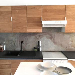 STONELEAF - ardoise - stockholm - Wall Covering