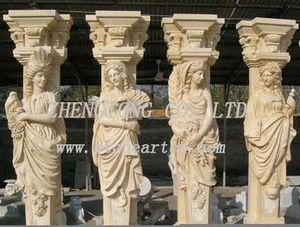 Stone Art Caryatid