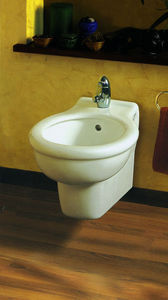 Wall-mounted bidet