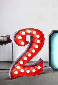 Decorative letters and numbers