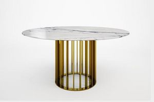 Round diner table
