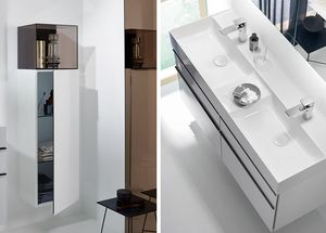 Burgbad Double basin unit
