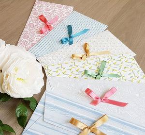 Les Belles Musettes gift envelope