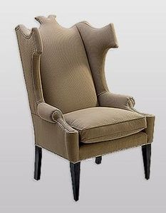 Armchair with headrest