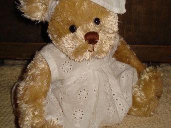 au petit coeur d'amour - dassie - Collectible Bear