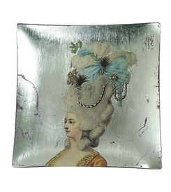 Siecle Paris - marie antoinette - Dessert Plate