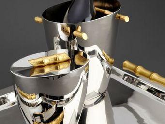 L'OBJET - bambou hollowware - Champagne Bucket