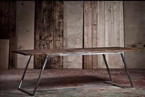 ADRIAN DUCERF - boulogne - Rectangular Dining Table