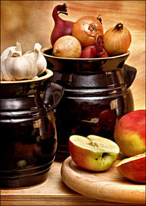 Boleslawiec -  - Onion Jar