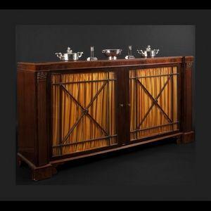 Expertissim - vitrine basse anglaise - Display Cabinet