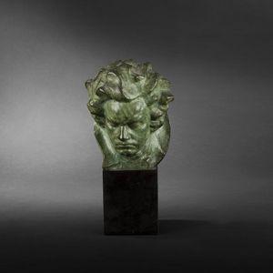 Expertissim - ghanu gantcheff. beethoven - Bust Sculpture