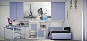 Cia International - letto bon bon - Bedroom Wall Units
