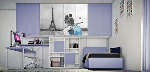 Cia International - letto bon bon - Bedroom Wall Units