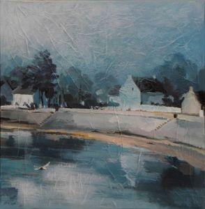Celiane Debray -  - Oil On Canvas And Oil On Panel