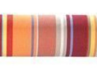 Les Toiles Du Soleil - métrage collioure rouge - Fabric By The Metre