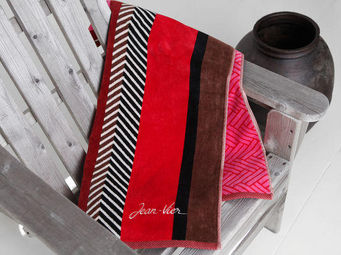 Jean Vier - belharra blush - Beach Towel