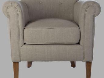 BLANC D'IVOIRE - karl beige - Armchair