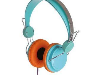 La Chaise Longue - casque stéréo street bleu - A Pair Of Headphones