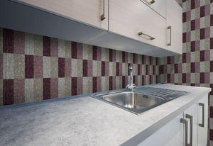 DEMOUR & DEMOUR Mosaïques - effets m04506 - Mosaic Tile Wall