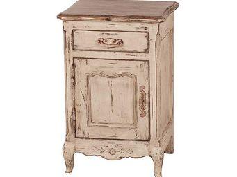 Interior's - chevet 1 porte 1 tiroir - Bedside Table